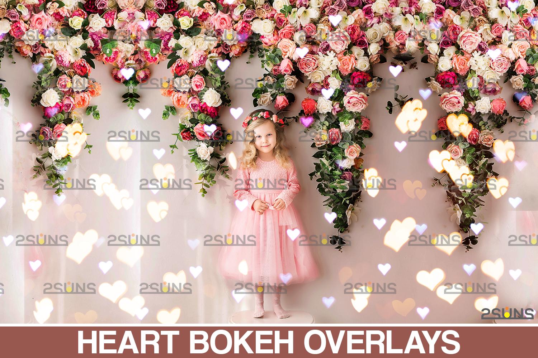 Valentine overlay & Photoshop overlay: Bokeh .Valentine digital backdrop, Valentine clipart - 001 75 -
