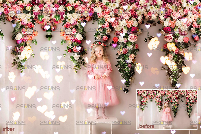 Valentine overlay & Photoshop overlay: Bokeh .Valentine digital backdrop, Valentine clipart - 003 81 -
