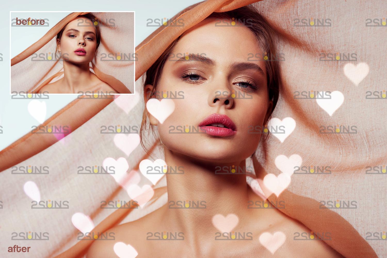 Valentine overlay & Photoshop overlay: Bokeh .Valentine digital backdrop, Valentine clipart - 006 70 -