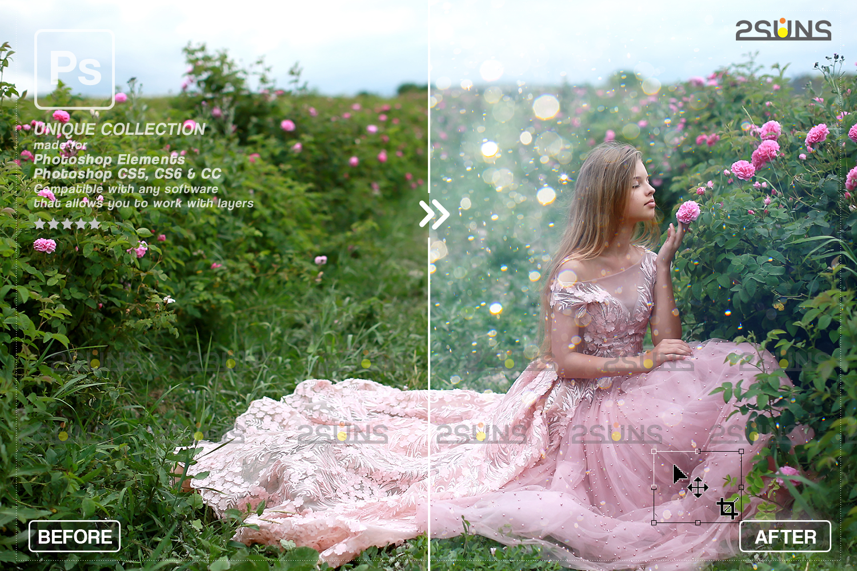 Valentine overlay & Photoshop overlay: Bokeh heart backdrop.Valentine digital backdrop,Heart - 007 75 -