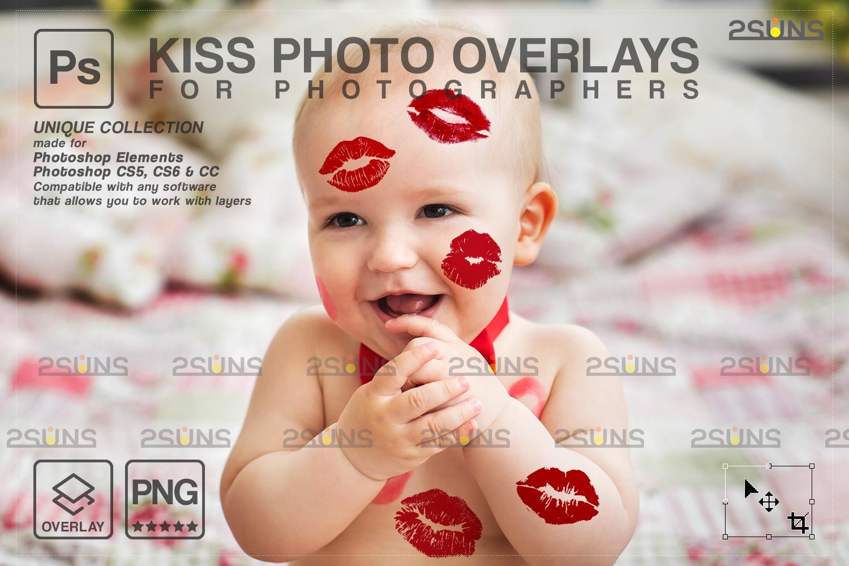 20 Kiss Overlays & Photoshop Overlay, Valentines day overlays,Digital Kiss, Valentine overlay, kiss - 001 88 -