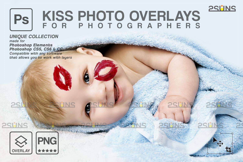 20 Kiss Overlays & Photoshop Overlay, Valentines day overlays,Digital Kiss, Valentine overlay, kiss - 002 90 -