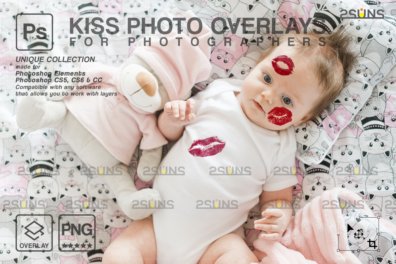 20 Kiss Overlays & Photoshop Overlay, Valentines day overlays,Digital Kiss, Valentine overlay, kiss - 003 94 -