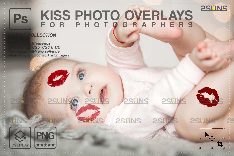 20 Kiss Overlays & Photoshop Overlay, Valentines day overlays,Digital Kiss, Valentine overlay, kiss - 005 86 -