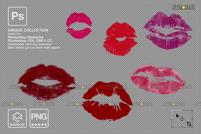 20 Kiss Overlays & Photoshop Overlay, Valentines day overlays,Digital Kiss, Valentine overlay, kiss - 006 83 -