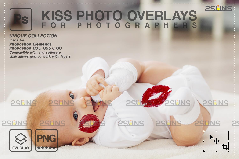 20 Kiss Overlays & Photoshop Overlay, Valentines day overlays,Digital Kiss, Valentine overlay, kiss - 007 82 -