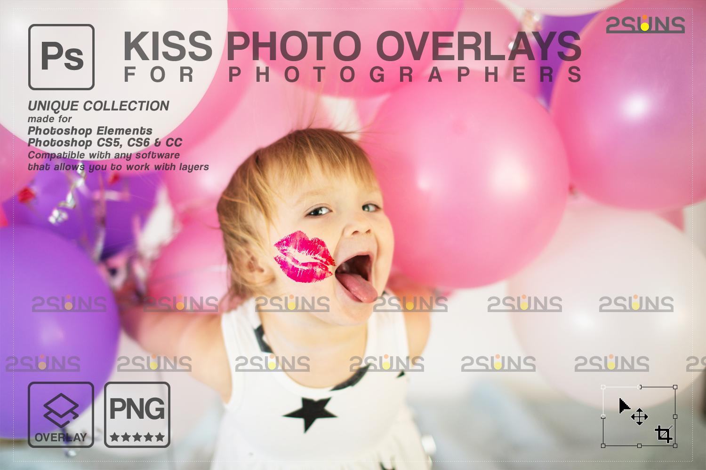 20 Kiss Overlays & Photoshop Overlay, Valentines day overlays,Digital Kiss, Valentine overlay, kiss - 008 79 -