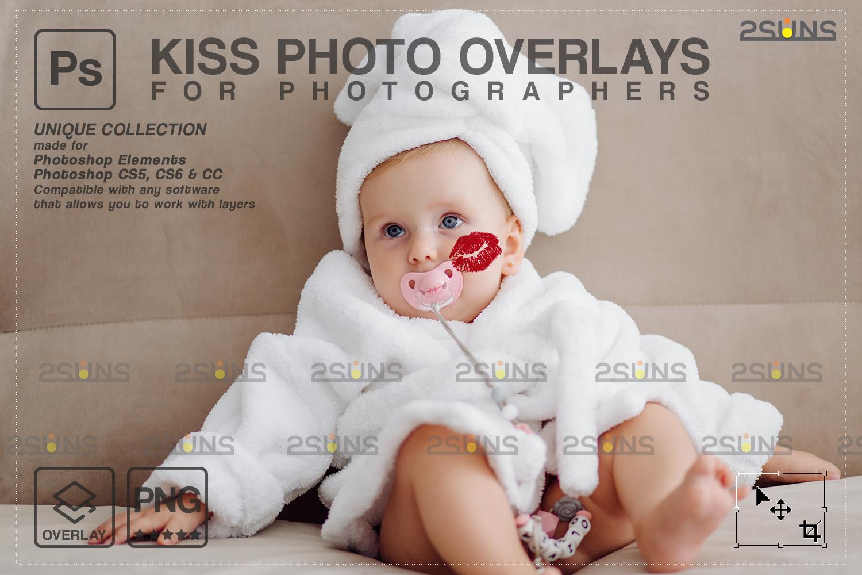 20 Kiss Overlays & Photoshop Overlay, Valentines day overlays,Digital Kiss, Valentine overlay, kiss - 009 71 -