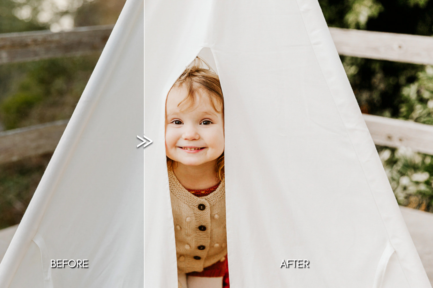 THE LIGHT & AIRY BUNDLE - Natural Clean Bright Lightroom Presets for Desktop + Mobile - bright pastel airy baby portraits newborn family professional photography lightroom presets 3 -