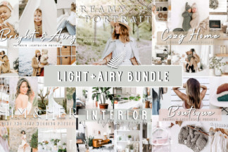 Crella Subscription | Discount A279SAYP - light airy preset bundle lightroom desktop mobile filters photography wedding portrait family baby home white clean modern -