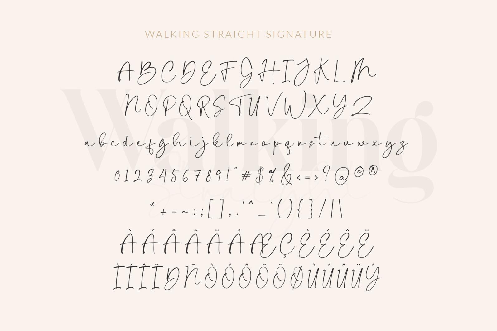 Walking Straight_Font Duo - SLIDE7 -