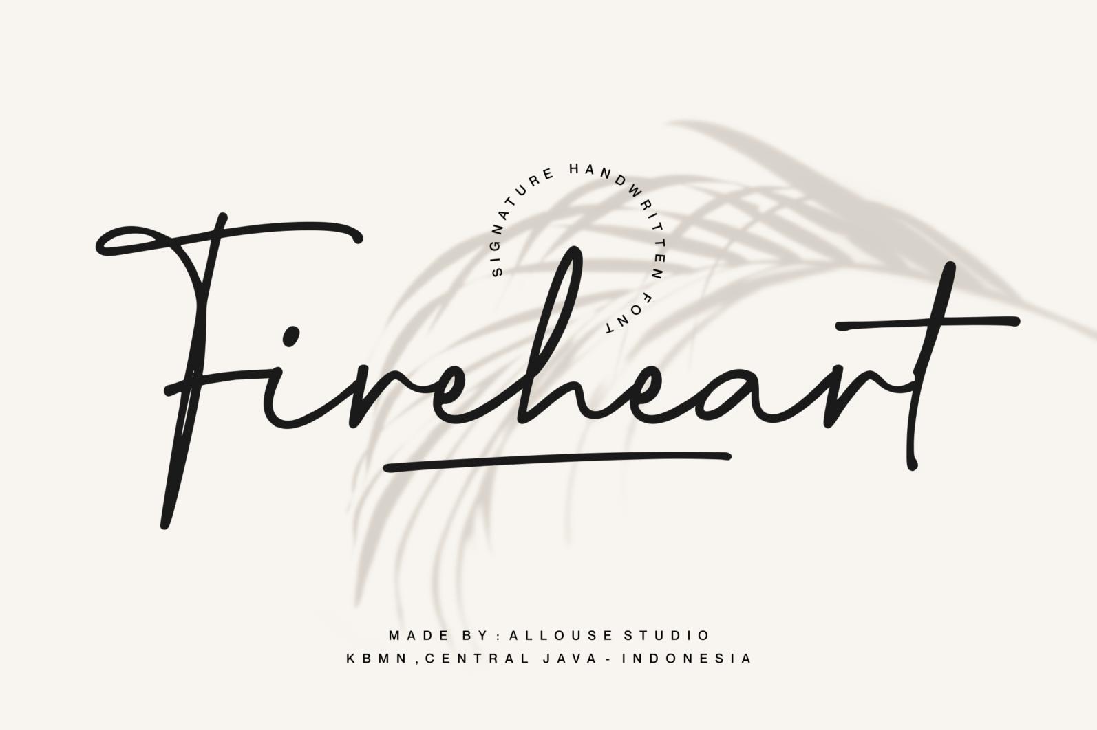 Fireheart Font - 1 2 -