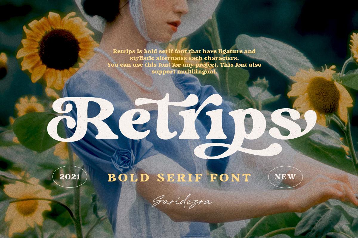 Retrips - Bold Serif Font - Artboard 1 19 -