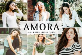 Crella Subscription - Amora Mobile Desktop Lightroom Presets Cover -