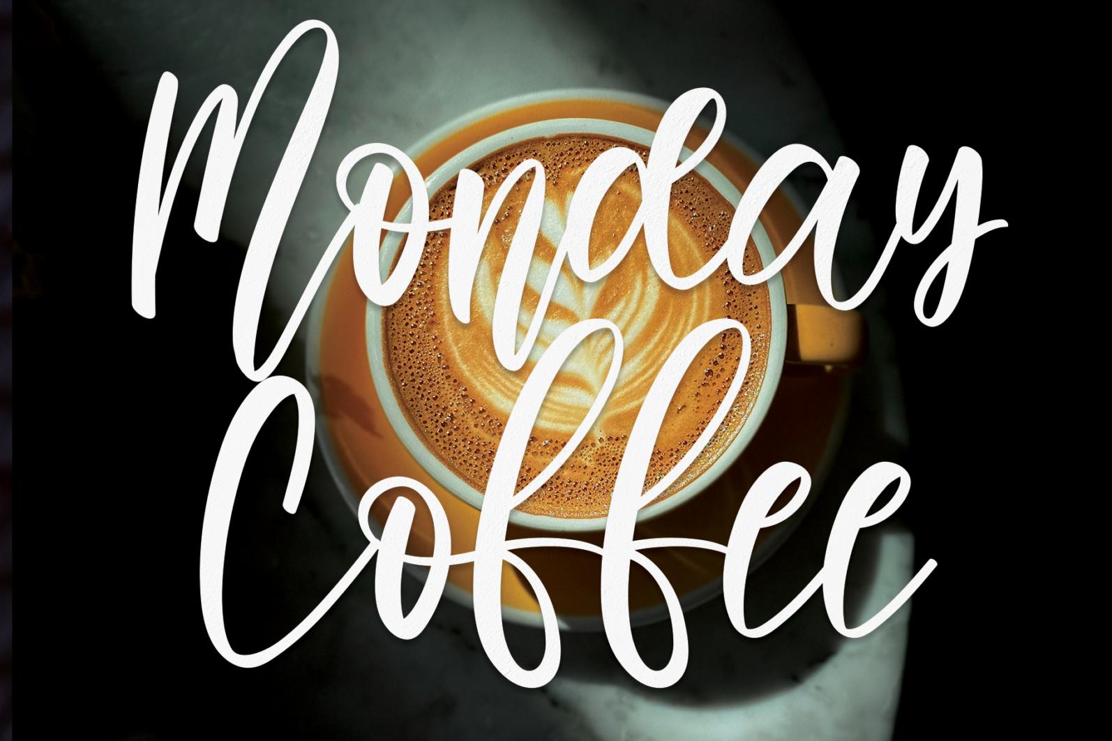 Monday Coffee - 1 114 -