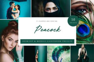 $1 Lightroom Preset Deals - Peacock Cover -