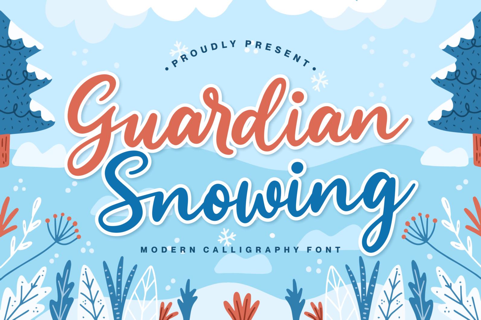Guardian Snowing - 1 55 -
