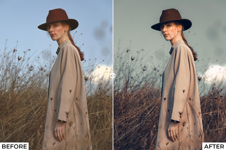 Orange Drama Lightroom Presets - comparison 3 -