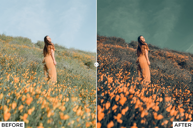 Orange Drama Lightroom Presets - Comparison 5. -