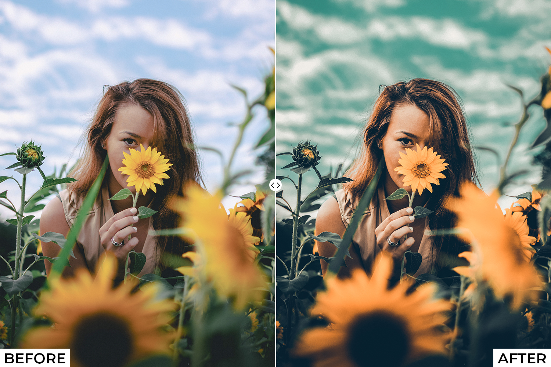 Orange Drama Lightroom Presets - comparison 6 -