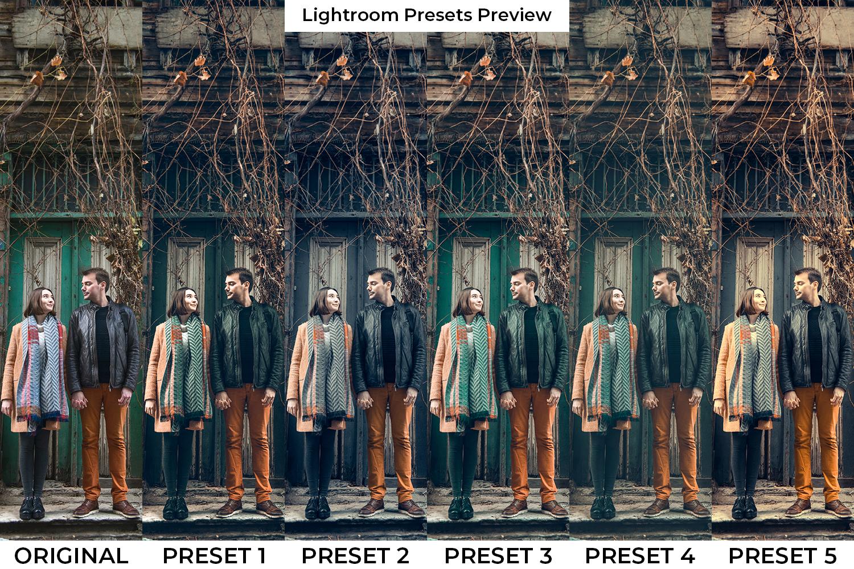 Orange Drama Lightroom Presets - Orange Drama pp -