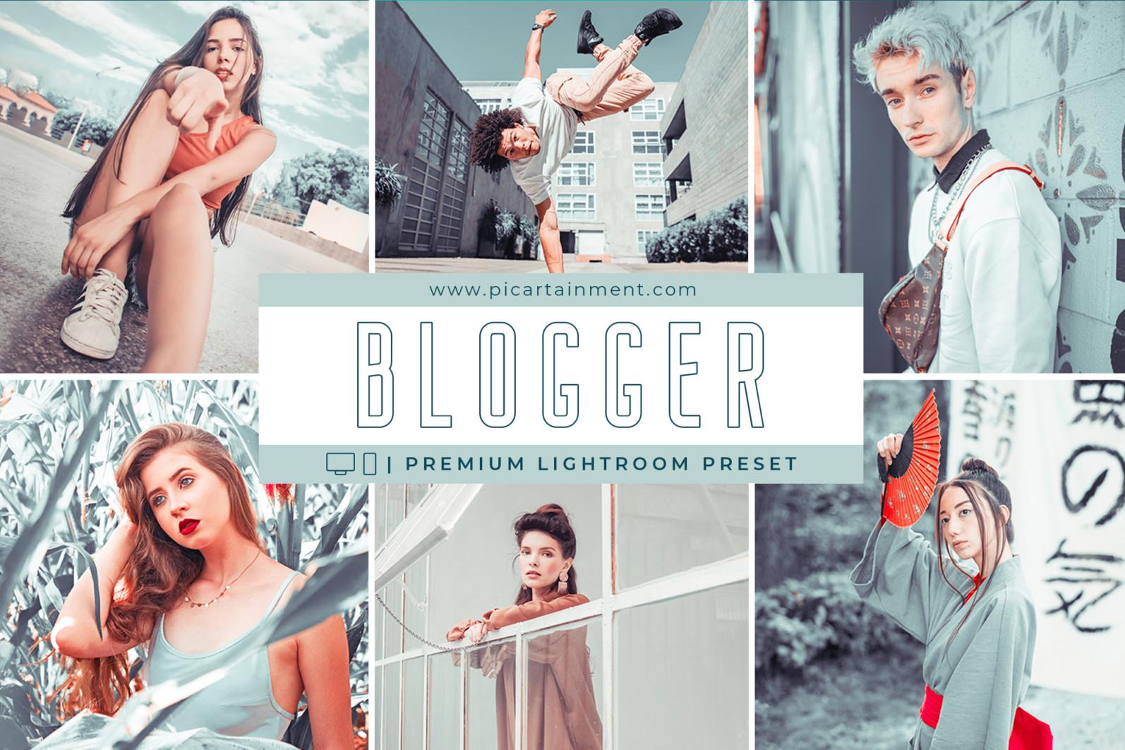 Blogger Lightroom Presets - Blogger cover -