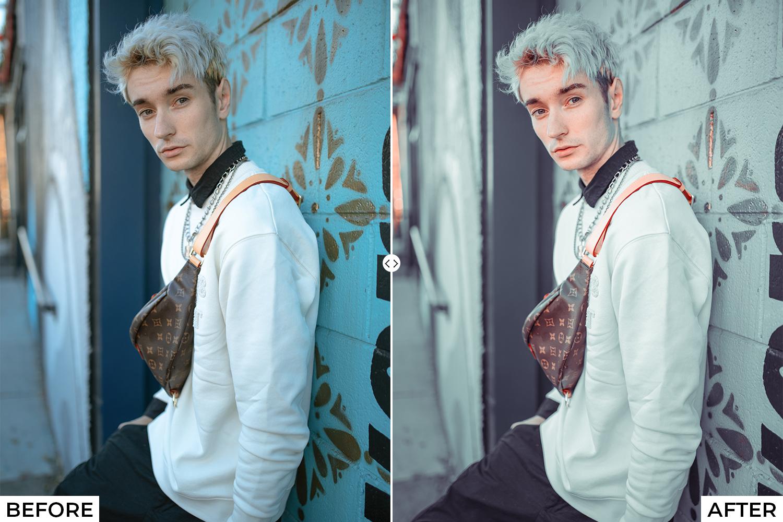 Blogger Lightroom Presets - comparison 3 1 -