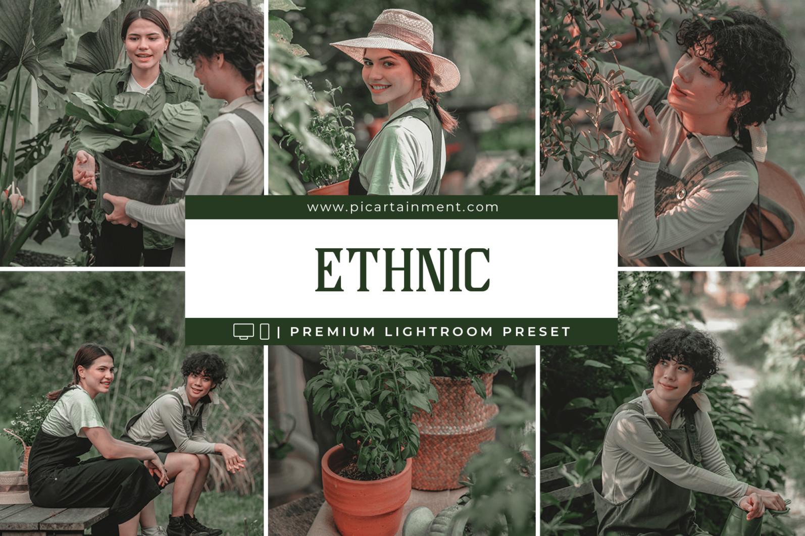 Ethnic Lightroom Presets - Ethnic Cover -