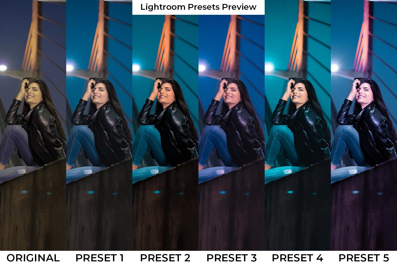 Night Life Lightroom Presets - Night Life PP -