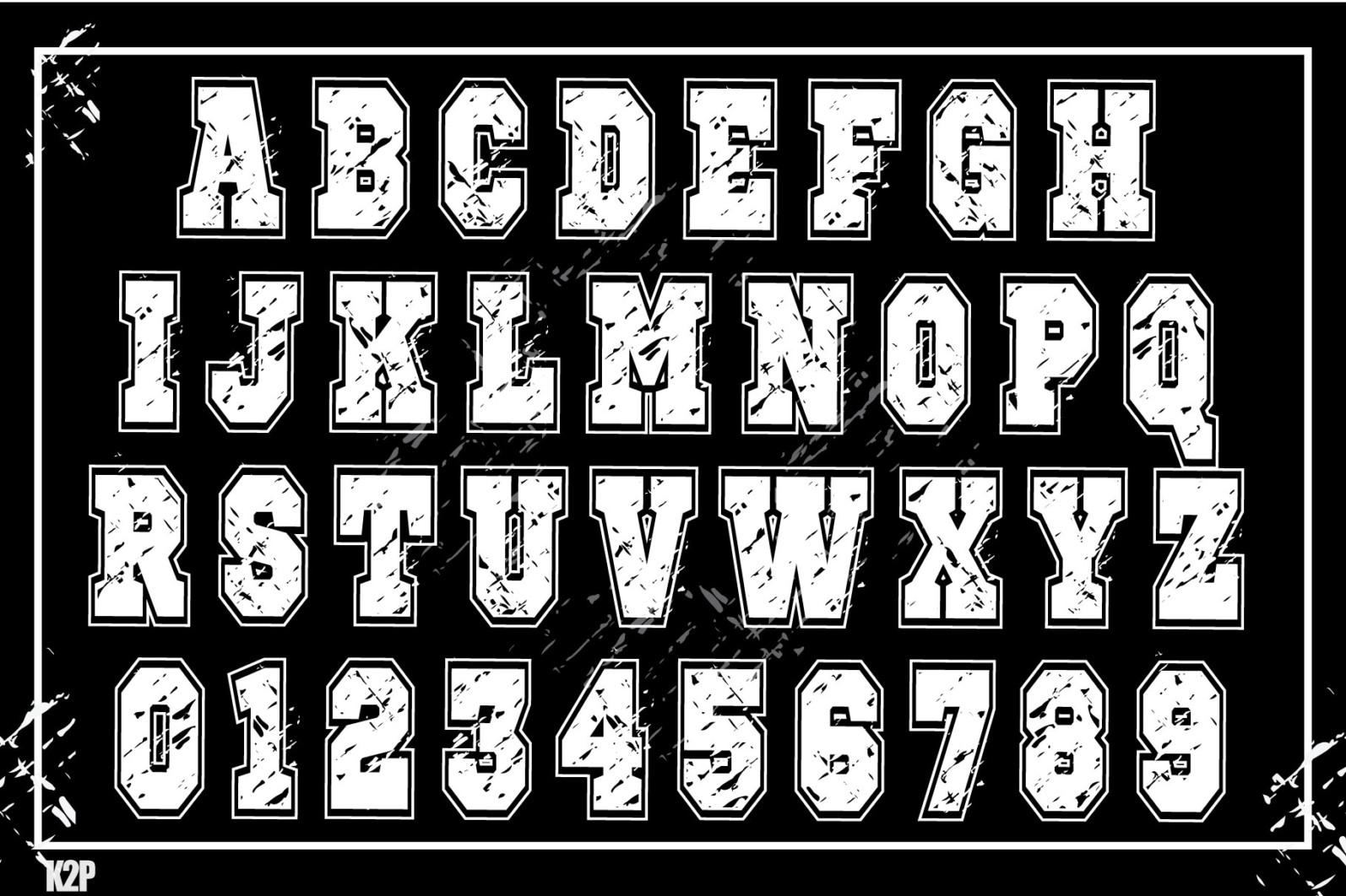 Grunge College 2 layers SVG Cut Files - GRUNGE COLLEGE AD2 -