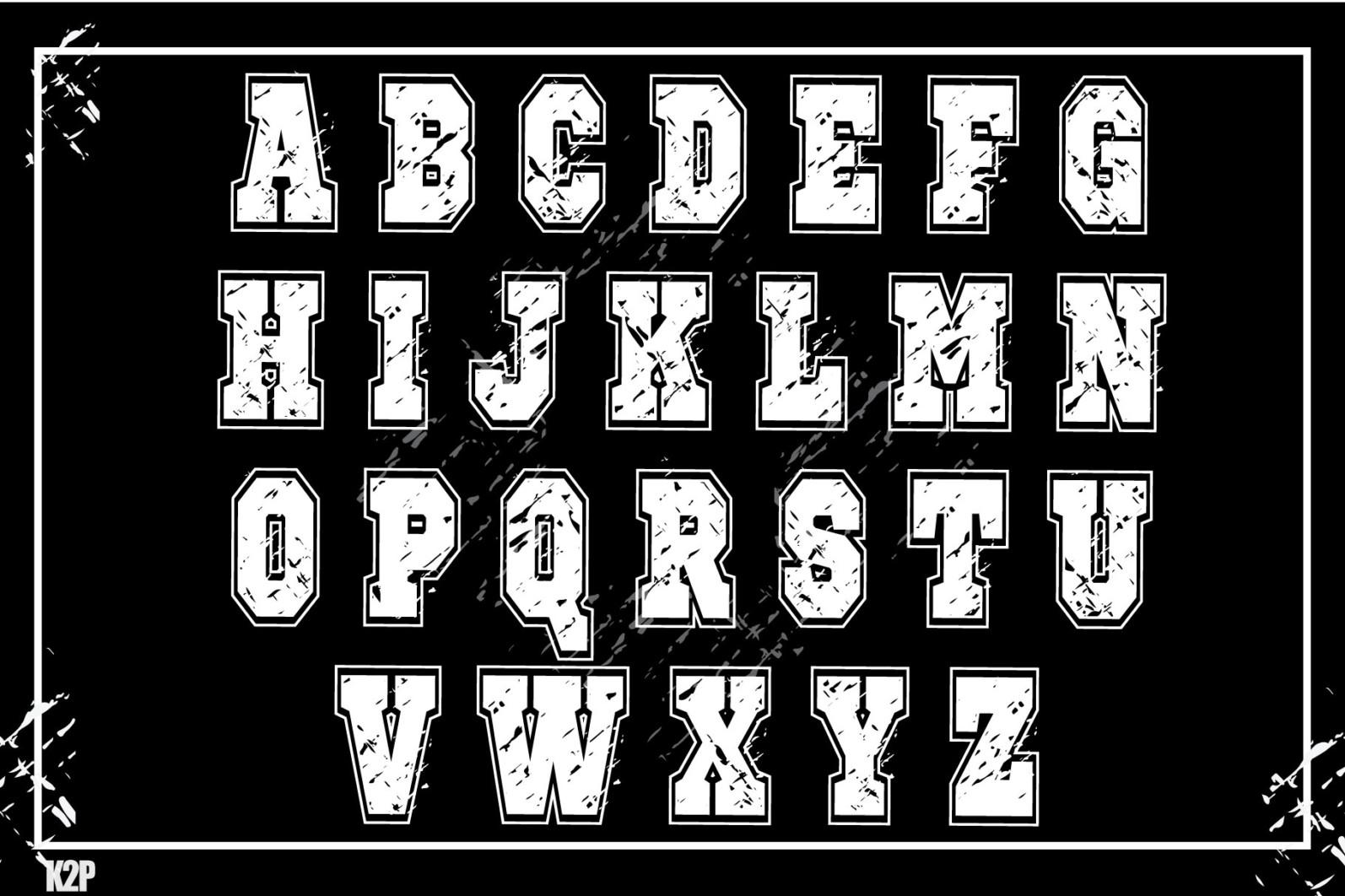 Grunge College 2 layers SVG Cut Files - GRUNGE COLLEGE AD4 -