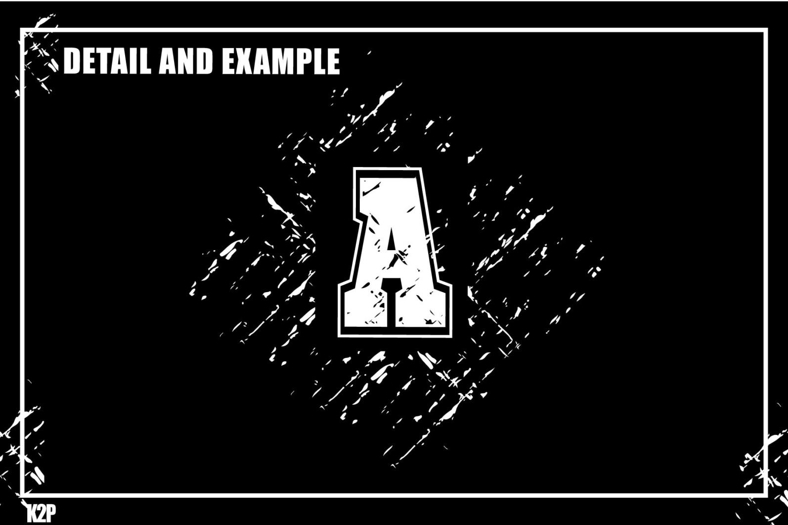 Grunge College 2 layers SVG Cut Files - GRUNGE COLLEGE AD9 -