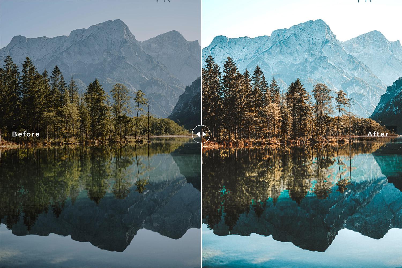 Reflection Mobile & Desktop Lightroom Presets - Preview 1 67 -