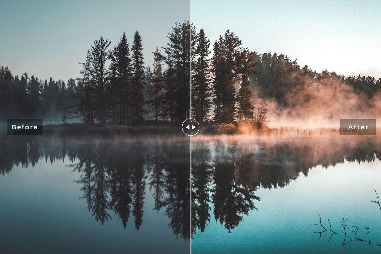 Reflection Mobile & Desktop Lightroom Presets - Preview 4 53 -