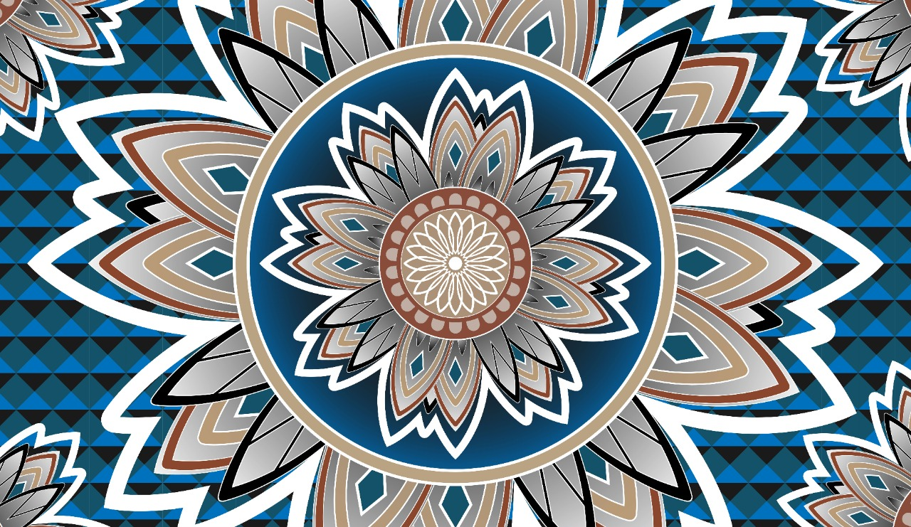 The Most cool Pattern Flower Model - -