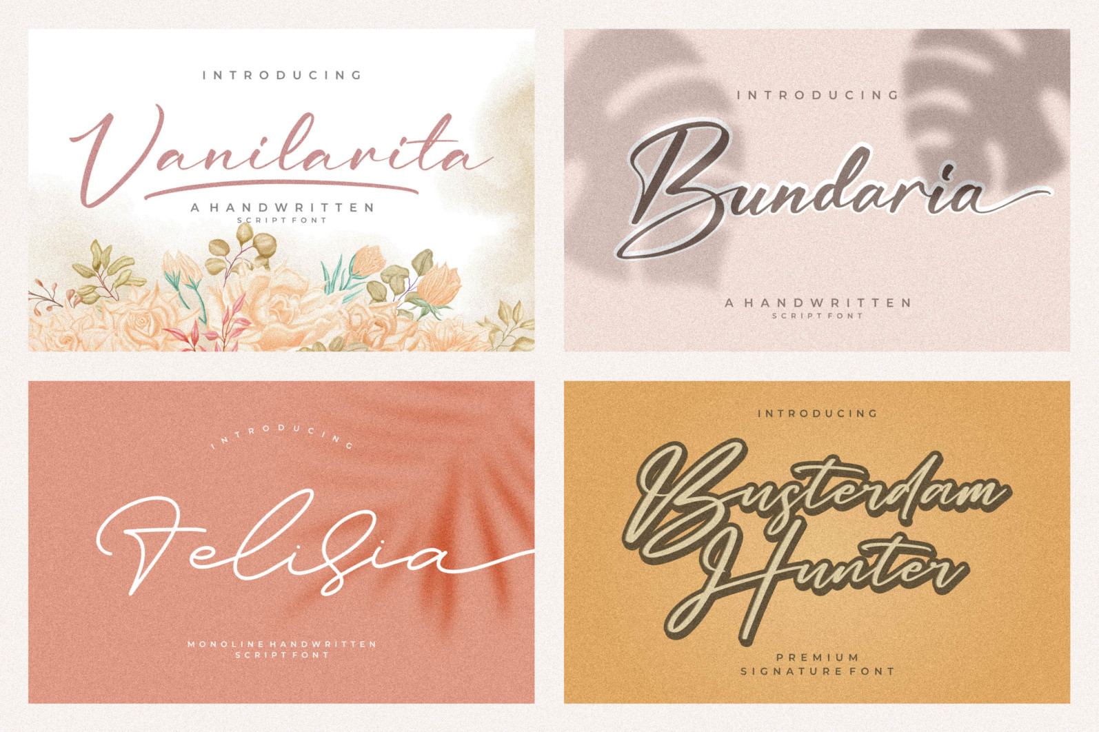 Spectacular All Collection Mega Font Bundle Handwritten - 1.png 2 scaled -