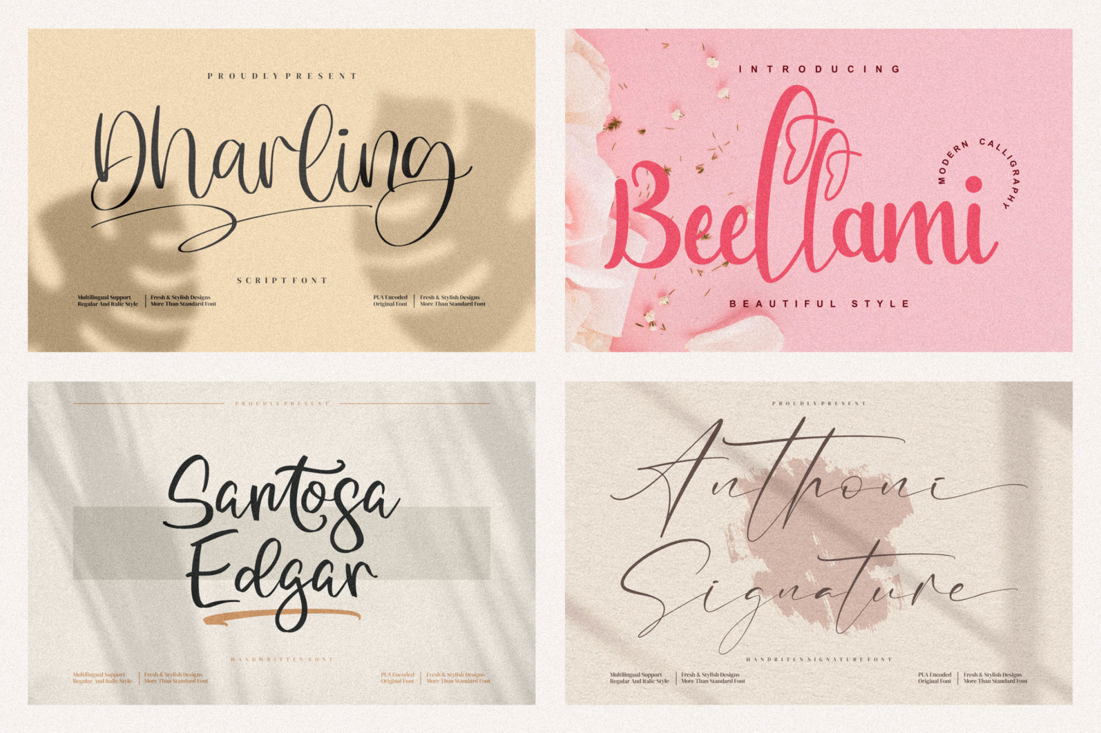 Spectacular All Collection Mega Font Bundle Handwritten - 4 467 scaled -