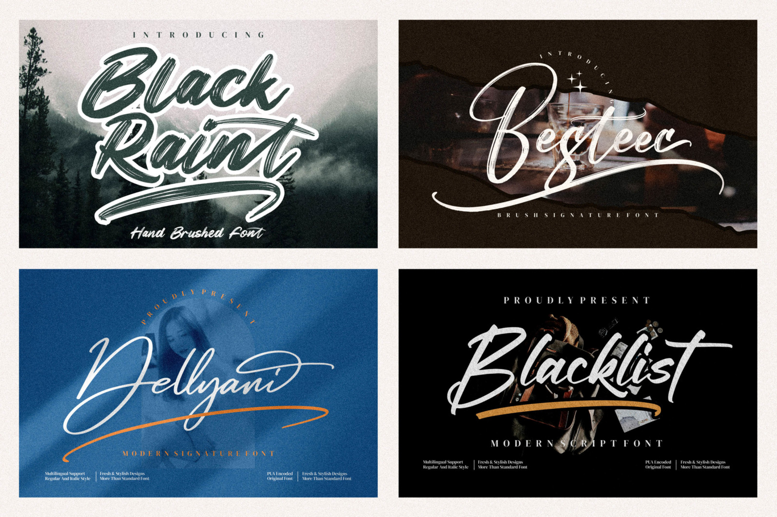 Spectacular All Collection Mega Font Bundle Handwritten - 12 55 scaled -