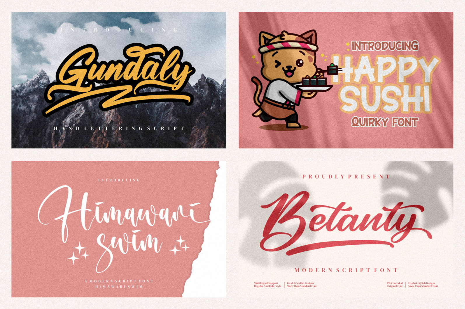 Spectacular All Collection Mega Font Bundle Handwritten - 20 5 scaled -