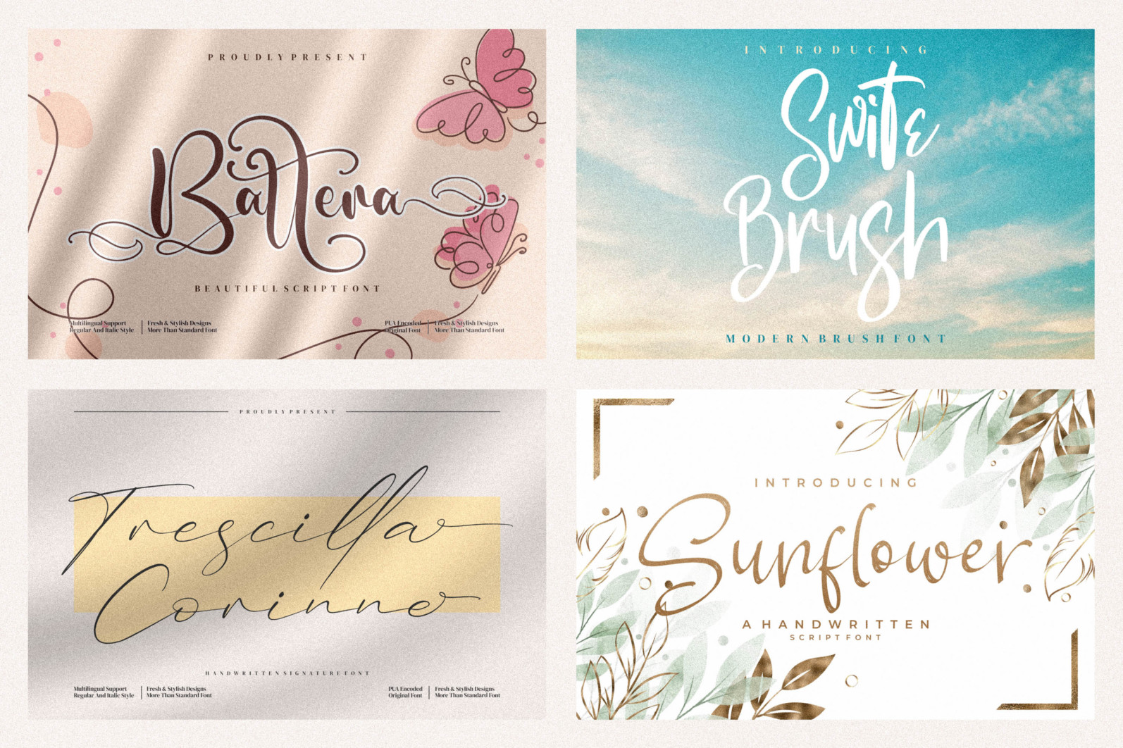 Spectacular All Collection Mega Font Bundle Handwritten - 24 5 scaled -