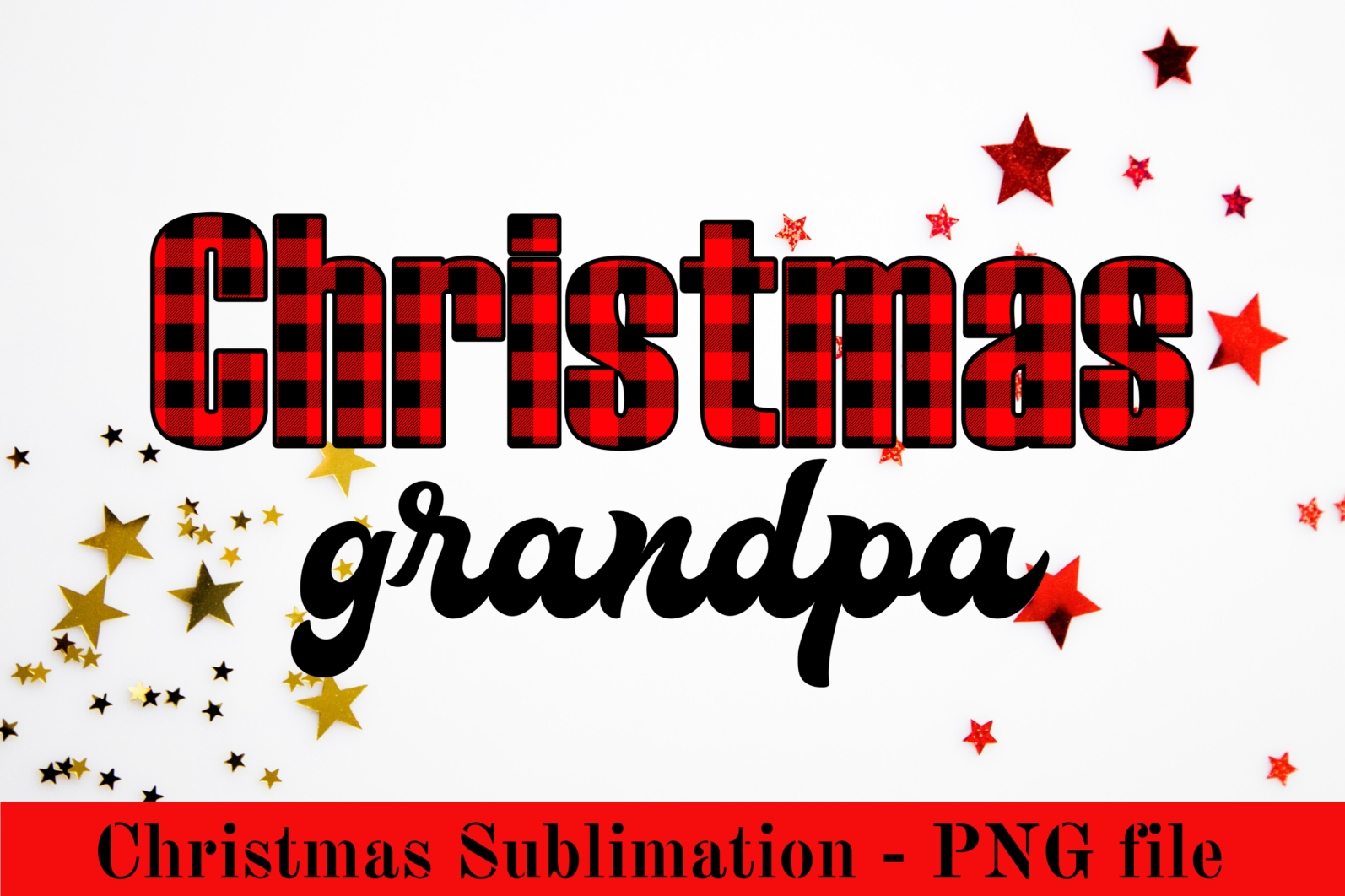 Christmas PNG Sublimation Design. Sublimation for t-shirt, mug and other. - CF2 17 -