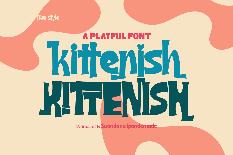 Kittenish - Playful Font - 1 17 -