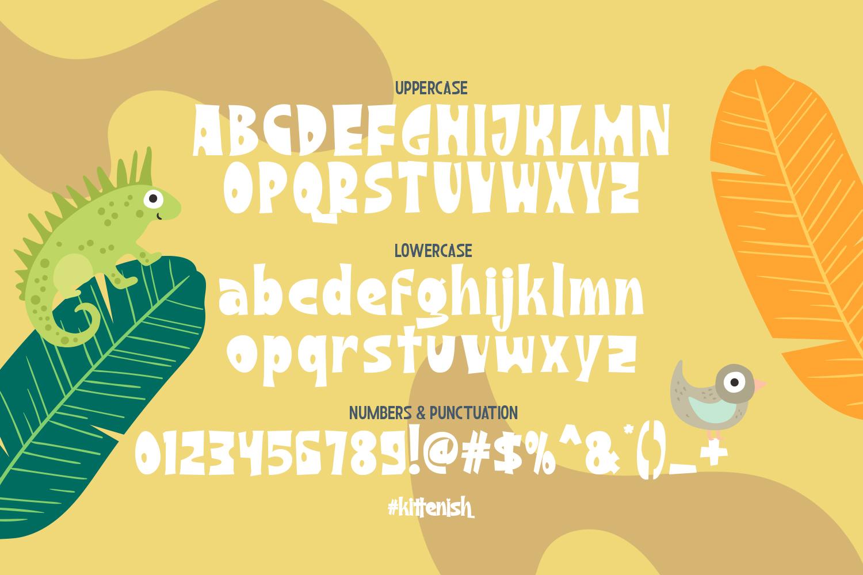 Kittenish - Playful Font - 6 13 -