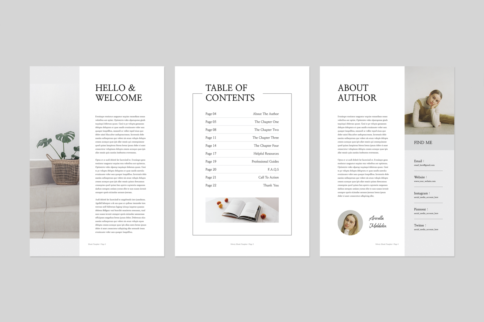 Ebook | MS Word & Indesign - Preview image 2 -