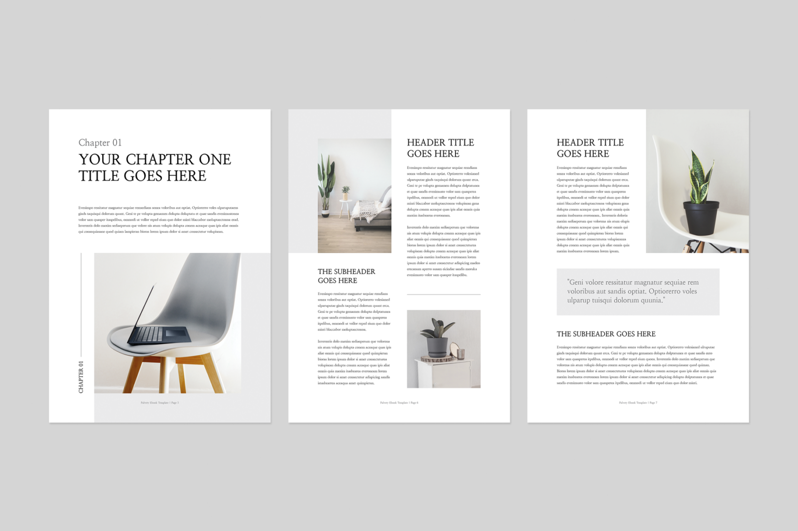 Ebook | MS Word & Indesign - Preview image 3 -