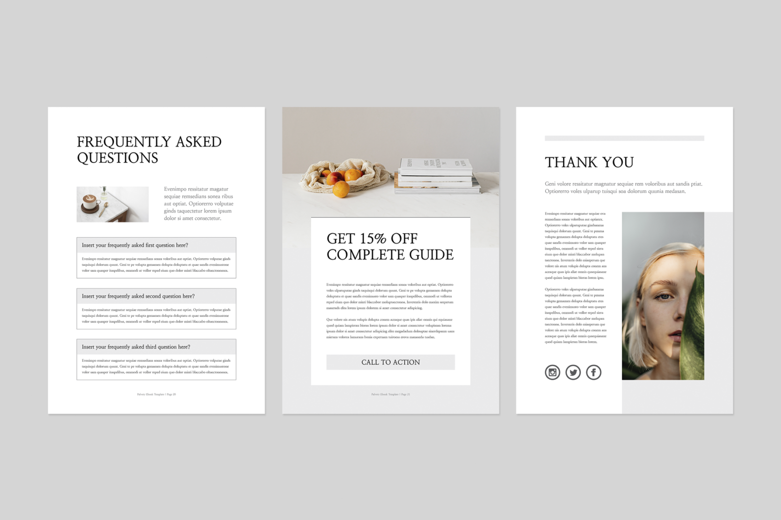 Ebook | MS Word & Indesign - Preview image 8 -