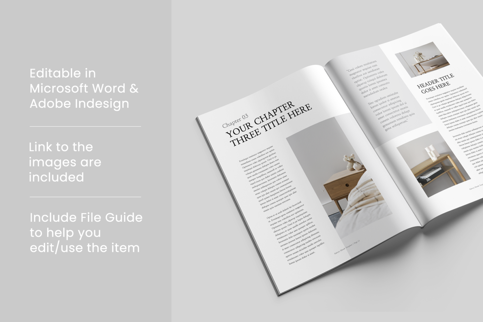 Ebook | MS Word & Indesign - Preview image 9 -