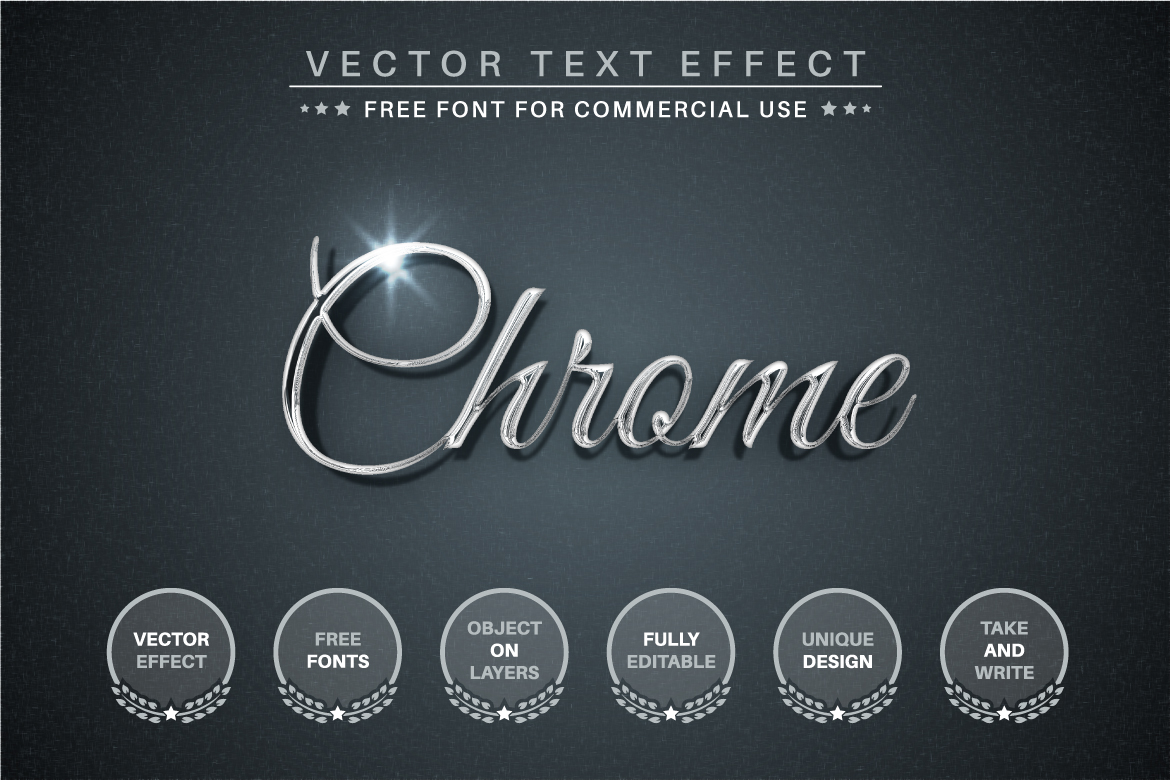 Silver - Editable Text Effect, Font Style - a 2 -