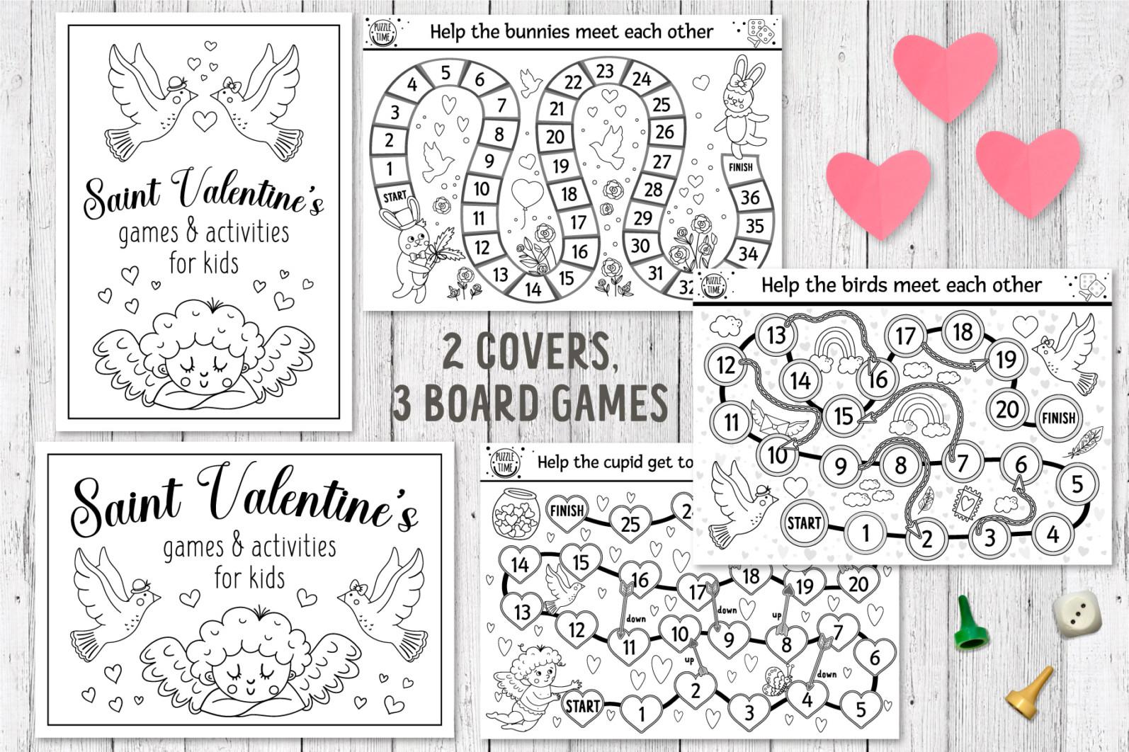 Saint Valentine's Coloring Games - 2 16 -