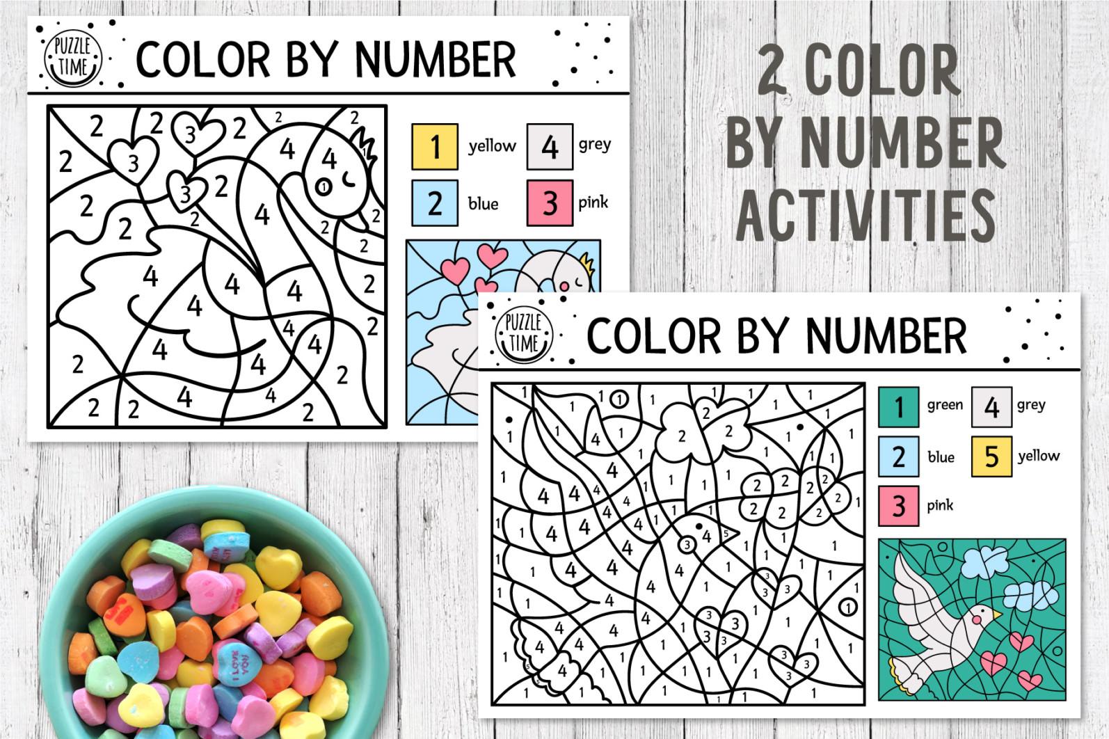Saint Valentine's Coloring Games - 9 7 -